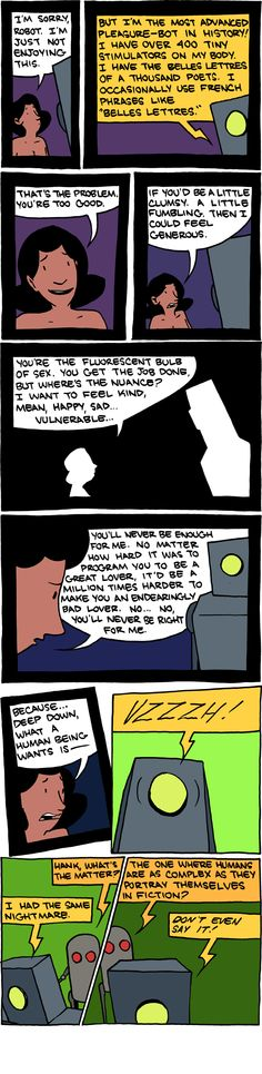 Sexual Imperfection - Saturday Morning Breakfast Cereal