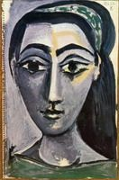 Pablo Picasso. Head of a Woman, 1962
