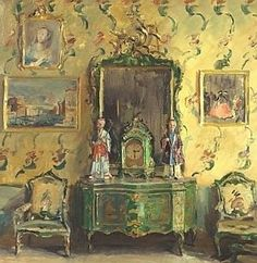 The Chinoiserie Room by Walter Gay