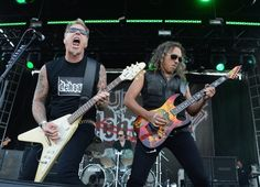 Metallica's James Hetfield And Kirk Hammett | GRAMMY.com