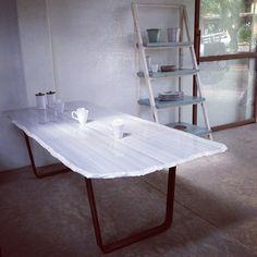 Mesa de Mármol gris