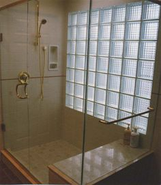 bathroom remodel glass block by bathroom remodeling fairfax via flickr