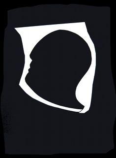 """andrea mattiello """"ombra""""1    collage su carta cm 25x35; 2012  #arte #art #artecontemporanea #artista #artistaemergente #creatoredimmagini #tecnicamista #carta #paper #collage"""