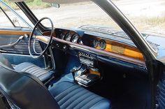 BMW 2000CS interieur