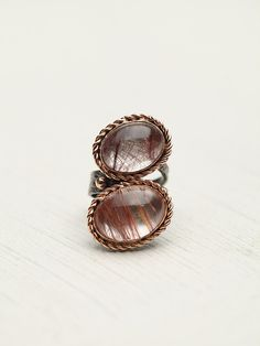 Rosewater Stone Ring at Free People Clothing Boutique
