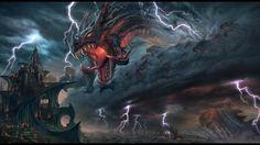 O dragão dos céus.