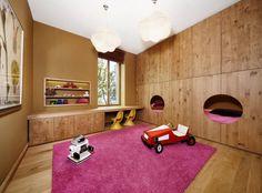 """Chambre pour 2 enfants aux lits """"ruche"""""""
