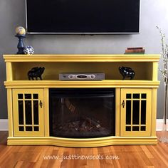 11 Yellow Painted Furniture Makeovers