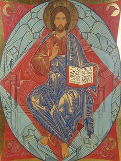 thedoors-thedoors:    Christ in Majesty AmongCherubim  Orthodox church in Kyoto, Japan
