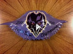 Baltimore Ravens/ Crab Shell Ornaments