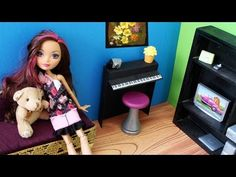 Craft: How to make a doll piano