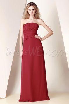 Pretty Ruched A-line Strapless Empire Waist Floor-Length Dasha's Bridesmaid Dress 8885051 - 2013 Bridesmaid Dresses - Dresswe.Com