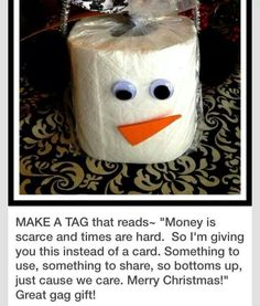toilet paper christmas ornaments - Google Search