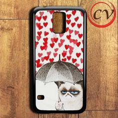Cat Heart Samsung Galaxy S5 Case