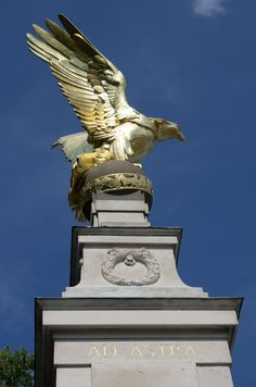 The RAF Memorial on the Victoria Embankment in London
