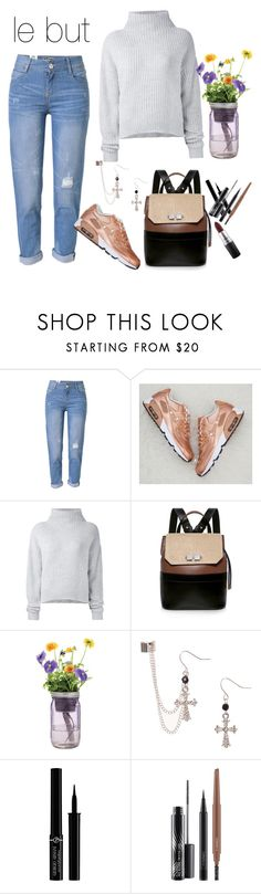 """""""night in paris"""" by firdawskone on Polyvore featuring WithChic, Le Kasha, Carven, Modern Sprout, Giorgio Armani and MAC Cosmetics"""
