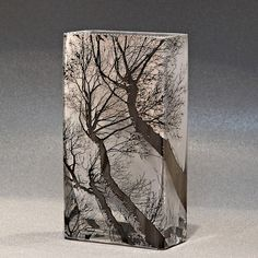 Mary-Melinda Wellsandt | Glass sandblasted