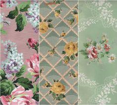 vintage wallpaper, memories of grandma's house Vintage Tags, Vintage Love, Vintage Flowers, Fairy Wallpaper, Love Wallpaper, Wallpaper Samples, Edgar Degas, Graphics Fairy, Vintage Artwork