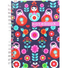 23/04/2016 - The Works, Salisbury - A6 Navy Rose Notebook - £1.50 === £32.11