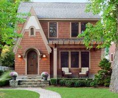 Pergola Architecture Design Curb Appeal Ideas For 2019 Tudor Cottage, Tudor House, Cottage Style, Facade Design, Exterior Design, Architecture Design, Exterior Colors, Home Design, Design Ideas