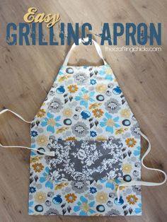 Easy Grilling Apron from the Crafting Chicks