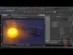 Maya 3D - Glow Shader (MR) - YouTube