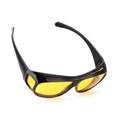 HD Vision Yellow Polarized Sunglasses Night Vision For Women Driving Sports Yellow Lens Sunglasses, Hd Sunglasses, Polarized Sunglasses, Mirrored Sunglasses, Hd Vision, Night Vision, Vision Glasses, Eye Protection, Lenses