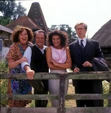 The Darling Buds of May reminds me of my childhood in Kent and filmed in my family village of Pluckley