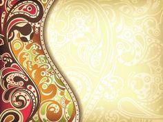 Floral decorative pattern background 01 vector