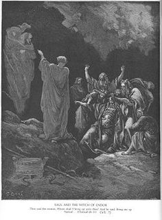 Saul  (circa 1079 BC – 1007 BC) was, according to the Qur'an and Hebrew Bible, the first king of the united Kingdom of Israel. He was anointed by the prophet Samuel and reigned from Gibeah. He fell on his sword to avoid capture in the battle against the Philistines at Mount Gilboa, during which three of his sons were also killed. The succession to his throne was contested by Ish-bosheth, his