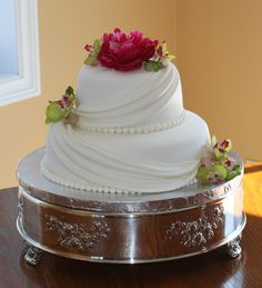 Small+Wedding+Cakes | spring wedding cake my second time making this small wedding cake ...