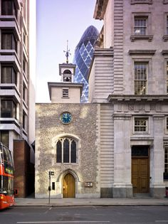 Smallest church The smallest church in the City of London is St. Ethelburga-the-Virgin in Bishopsgate, EC2, which dates from at least the 13th century. It measures 56 feet by 30 feet (17 m by 9.1 m). The world's most beautiful churches