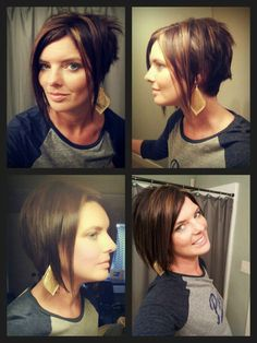 Tricky Troyer Tip #137: Sometimes you just need a fresh new look.  Short Bob Hair Asymmetrical Hair 2013