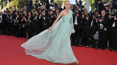 GORGEOUS! Diane Kruger In Giambattista Valli Couture