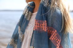 Spring Style Series with Happily Grey -- Meseret Scarf @Mary Seng > HAPPILY GREY
