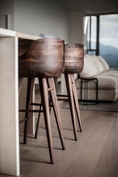 Chaise De Cuisine Moderne, Chaises De Bar En Bois