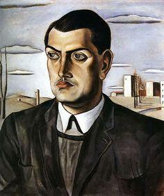Dali, Salvador (1904-1989) - 1924 Portrait of Luis Bunuel by RasMarley, via Flickr