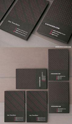 65 Minimalist Vertical Business Card Designs | iBrandStudio