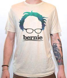 Artisan Tees - Bernie Sanders T-shirt. Hand Printed with Eco-Friendly Ink! Love T Shirt, Bernie Sanders, Tee Design, Tees, Shirts, Style Me, Random Stuff, Funny Stuff, Artisan