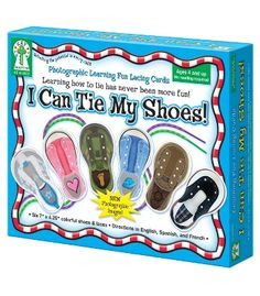 I Can Tie My Shoes Lacing Cards - Carson Dellosa Publishing Education Supplies