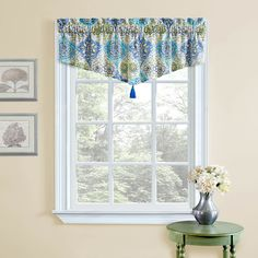 "Waverly Kings Turban 52"" Curtain Valance"