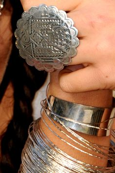 Eeeee! Cant wait to get my hands on our aztec chunky ring Aquene peace ring www.tamaasa.com