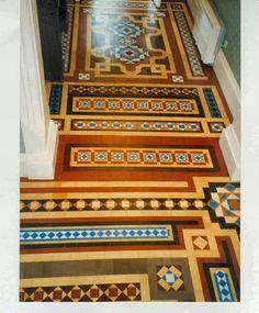 Image Detail For Victorian Tile Restoration Other Projects Heritage Tiling