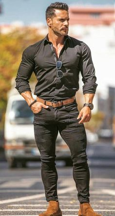 New fitness motivation hombres muscle 15 ideas Cheap Mens Fashion, Mens Fashion Suits, Sport Fashion, Style Fashion, Fashion Sites, Fashion Clothes, Fashion Boots, Mode Masculine, Men Style Tips