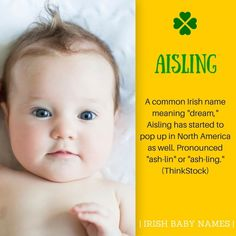 Irish Girl Names, Irish Girls, Baby Girl Names, Boy Names, Irish Name Meanings, Names With Meaning, St. Patricks Day, Unisex Baby Names, Culture