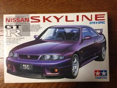 Tamiya 1/24 Nissan Skyline GT-R V Spec #Tamiya
