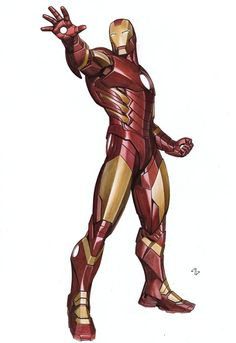 Adi Granov Kotobukiya Marvel Now Iron Man statue design