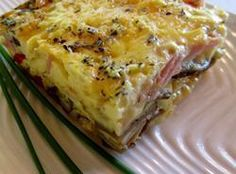 Thanksgiving or Christmas Brunch Egg Bake