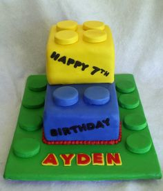 boys birthday cakes | Adventures in Savings: Legos Birthday Cake