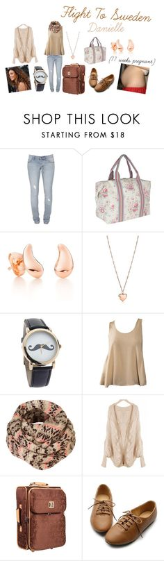 """Flight To Sweden (Danielle)"" by karolinebhn ❤ liked on Polyvore featuring Cheap Monday, Cath Kidston, Elsa Peretti, Tiffany & Co., CO, Diane Von Furstenberg and Ollio"